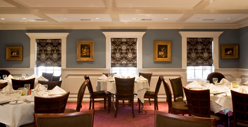 One of the best restaurants with private rooms in nj the for Best private dining rooms nj