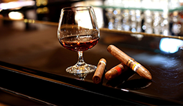 The Brick House in Wyckoff NJ cigar bar menu
